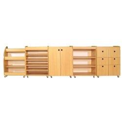 Montessori Dolap Seti Kayın 5 li