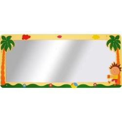 Büyük Palmiyeli Lavabo Aynası