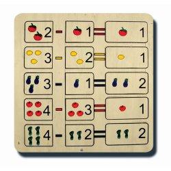 70035Matematik Serisi Çıkarma Puzzle 33x33cm