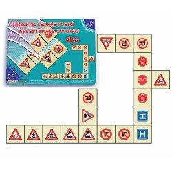 20070Trafik İşaretleri Eşleştirme Akıl Oyunu 36 Parça