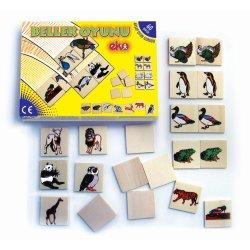 70010Bellek Akıl Oyunu (memori) 60 parça 30 çift