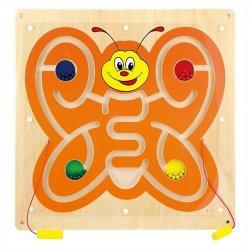 Kelebek Mıknatıslı Bilye Takip Oyunu
