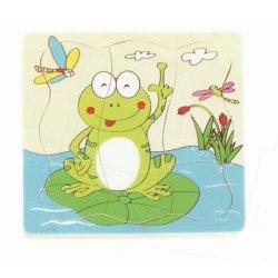 Kurbağa Gelişim Katlı Yapboz